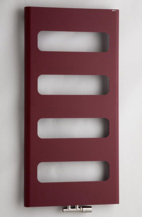Koupelnový radiátor Retro - bordó - RTRE