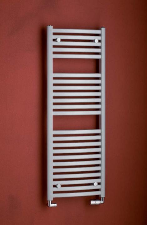 Koupelnový radiátor  Marabu  - metalická stříbrná  - M4MS