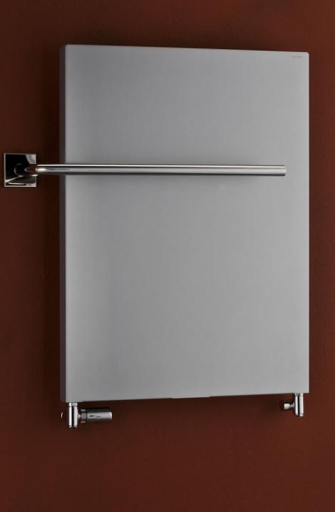 Koupelnový radiátor Pegasus - metalická stříbrná-PG1MS