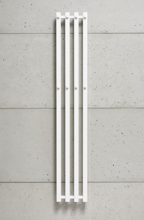 Koupelnový radiátor Pluto - bílá -P2W/4