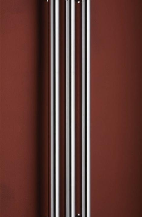 Koupelnový radiátor  Rosendal - chrom -R70/3C