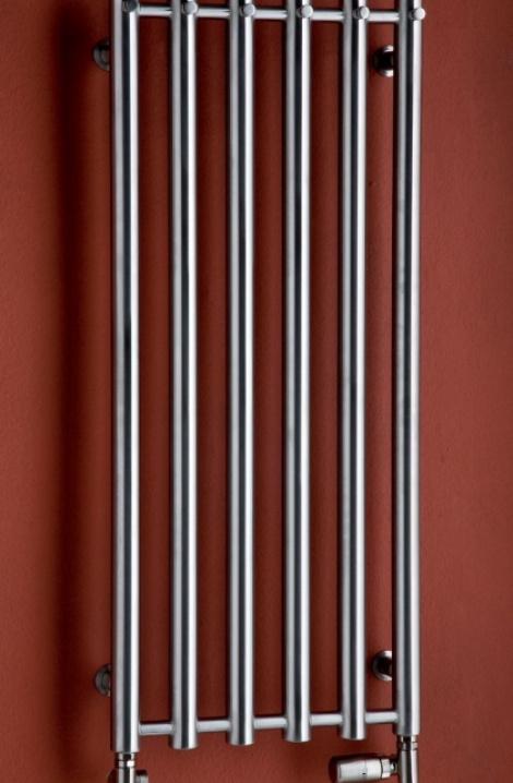 Koupelnový  radiátor  Rosendal  - chrom - R1SS/6