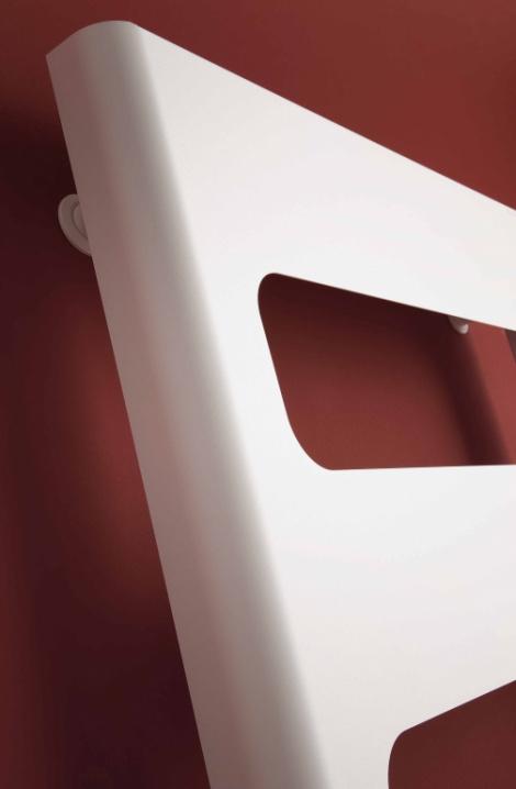Koupelnový radiátor Retro - detail