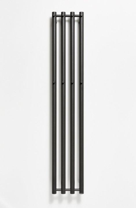 Koupelnový  radiátor  Rosendal  - černá - R2B